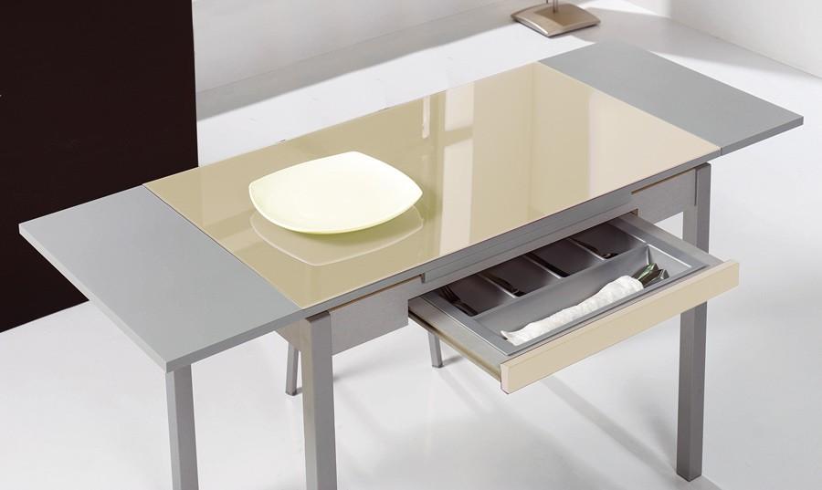 Mesa de cocina con cajón Calanda | Comprar Mesas de Cocina en ...