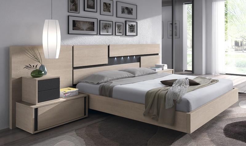 Cabecero de cama y mesillas de noche Landas | Comprare Conjuntos ...