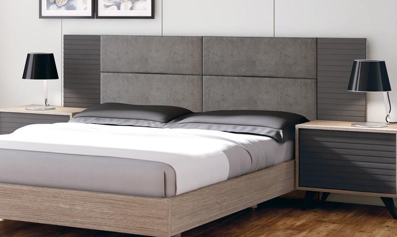 cabecero para dormitorio moderno kerry comprar cabeceros en muebles rey - Cabeceros Modernos