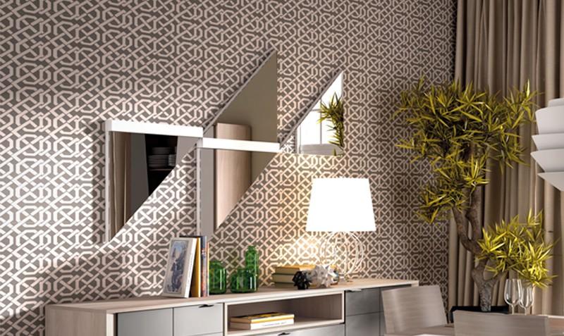 Espejo para salón moderno Living | Comprar espejos en mueblesrey.com