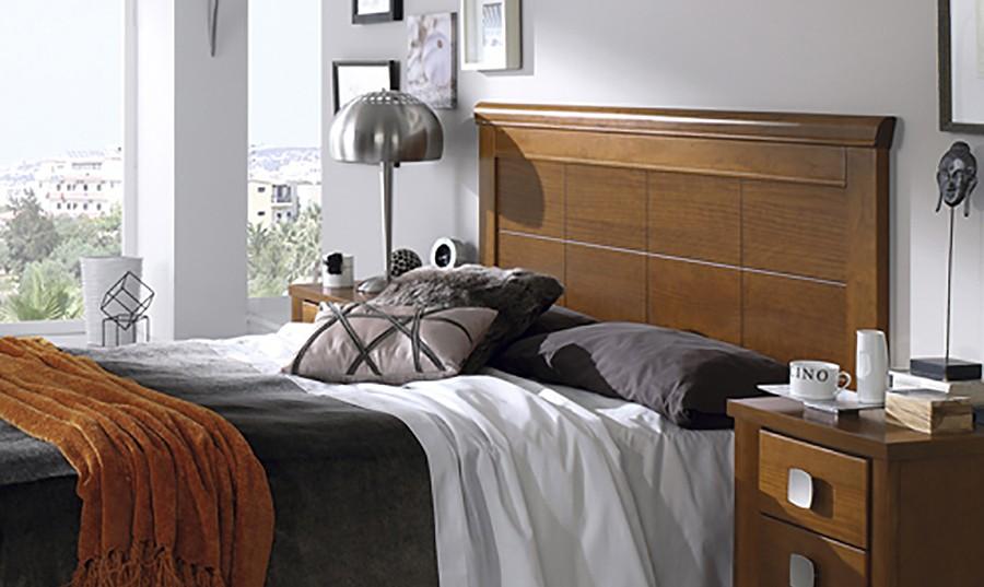 Cabecero de cama de madera Fátima | Comprar Cabeceros en Muebles Rey