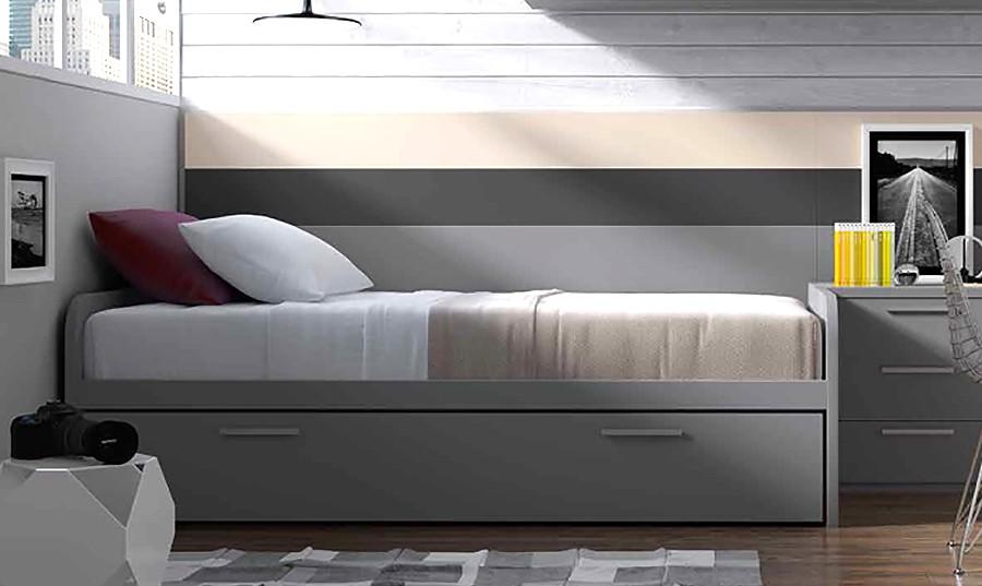 Cama nido para dormitorio juvenil Newport | Comprar Camas nido en ...