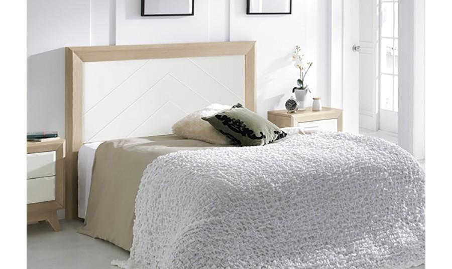 Cabecero de cama de madera Oporto | Comprar Cabeceros en Muebles Rey