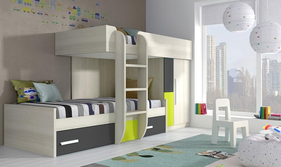 Dormitorios juveniles online, descubre amplia gama - Muebles Rey