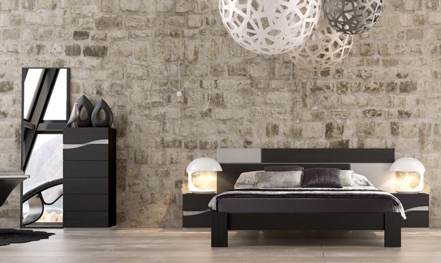 Marco con espejo para dormitorio moderno Madeira | Comprar Espejos ...