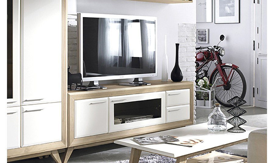 mueble para tv para saln moderno palermo comprar muebles para tv en muebles rey - Mueble Televisor