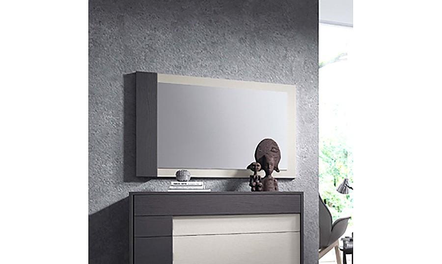 Espejos de salon modernos espejos modernos en cristal de for Marcos de espejos modernos