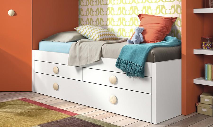 Cama nido con escritorio incorporado amazing cama con for Cama nido escritorio incorporado