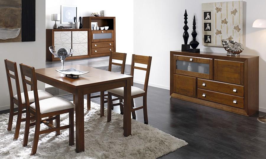 Muebles de comedor de madera modernos casa dise o for Mesas comedor escolar
